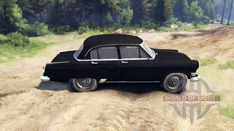 GAZ-21 Wolga für Spin Tires
