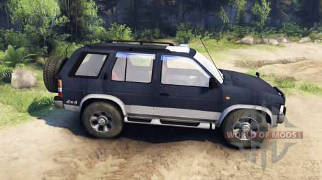 Nissan Terrano I V6-3000 R3 pour Spin Tires