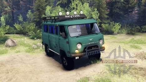 UAZ-3309 pour Spin Tires