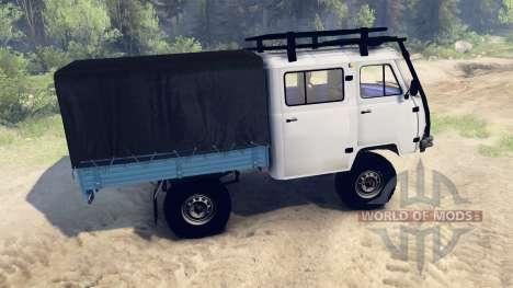 UAZ-390945 Bauer für Spin Tires