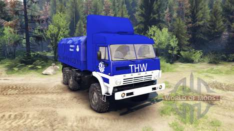 KamAZ-43101 THW pour Spin Tires