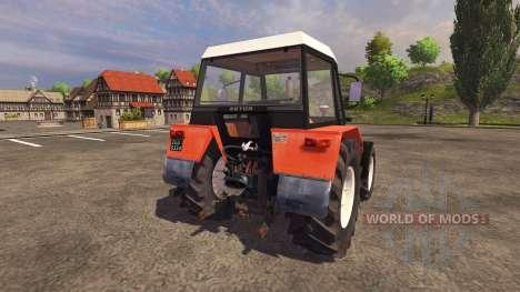 Zetor 7245 1986 pour Farming Simulator 2013