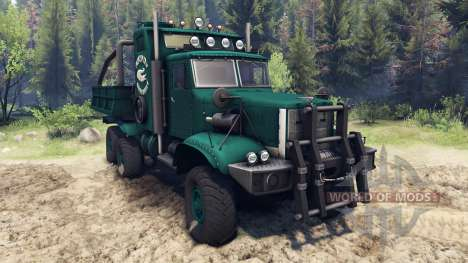 KrAZ-255 B1 Krokodil für Spin Tires
