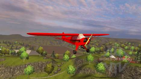 Avion Piper J-3 Cub pour Farming Simulator 2013