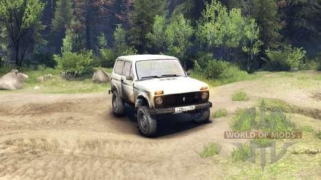 VAZ-2121 Niva v2.0 pour Spin Tires