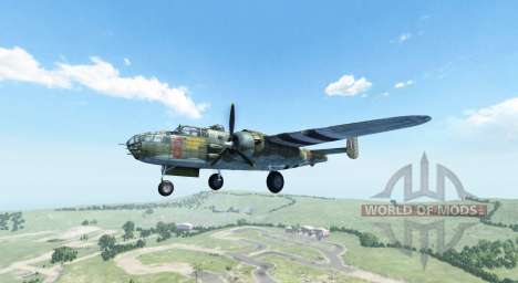 North American B-25 Mitchell pour BeamNG Drive