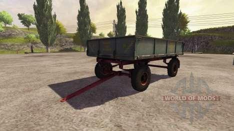 Remorque 2PTS-4 2009 v2.0 pour Farming Simulator 2013