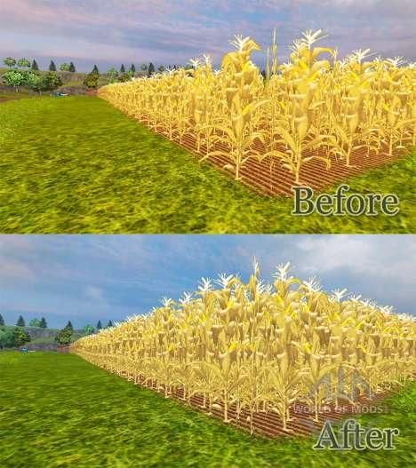 Der Anstieg der Maiserträge für Farming Simulator 2013