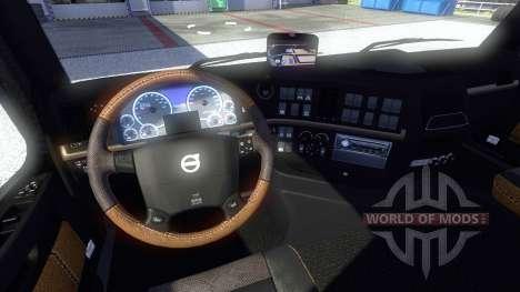 Nouvel intérieur Volvo pour Euro Truck Simulator 2
