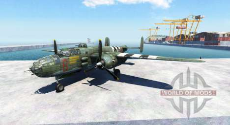 North American B-25 Mitchell für BeamNG Drive