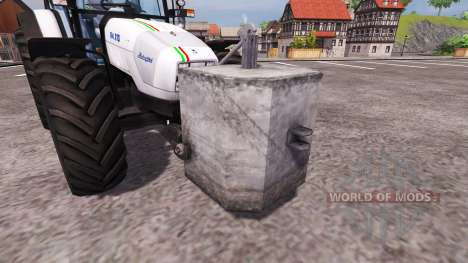 Contrepoids de béton pour Farming Simulator 2013