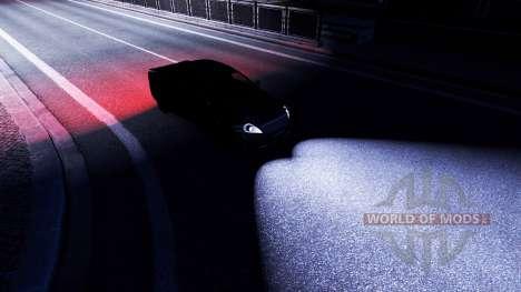 La lumière mod pour Euro Truck Simulator 2