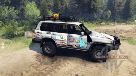 Toyota Land Cruiser 105 pour Spin Tires