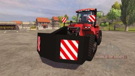Contrepoids arrière pour Farming Simulator 2013