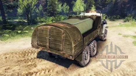 Tank-bowser für Spin Tires