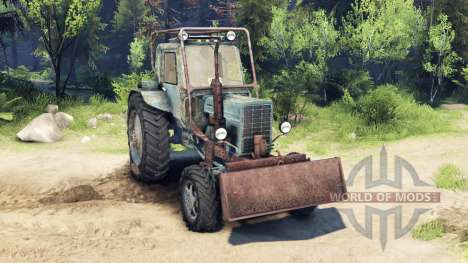 MTZ-82 1985 für Spin Tires