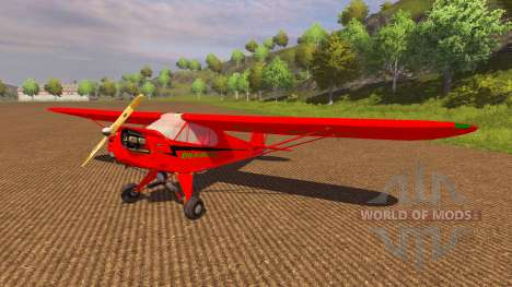 Avion Piper J-3 Cub pour Farming Simulator 2013