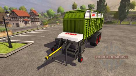 Trailer CLAAS Quantum 6800S 2004 für Farming Simulator 2013