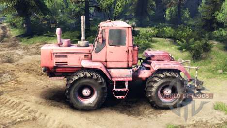Т 150К v1.1 rouge pour Spin Tires