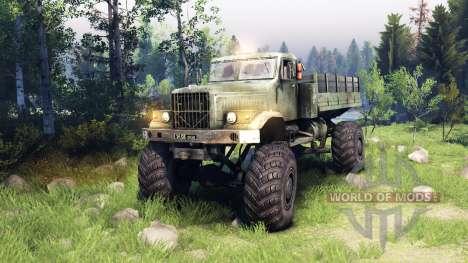 Kraz-255 4x4 pour Spin Tires