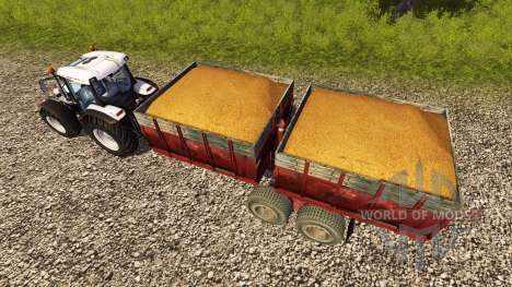 Remorque PTS-9 1990 pour Farming Simulator 2013