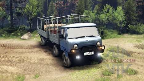 UAZ-29232 für Spin Tires