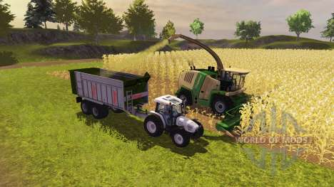 Remorque Fliegl ASW 268 2011 pour Farming Simulator 2013
