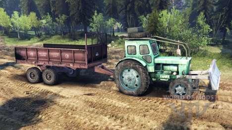 Tracteur T-IM v1.1 vert pour Spin Tires