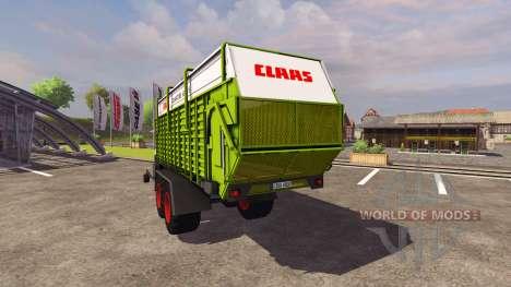 Remorque CLAAS Quantique 6800S 2004 pour Farming Simulator 2013