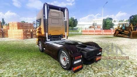 Haut de tuyau d'échappement pour Euro Truck Simulator 2