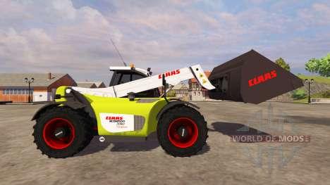 Ausgrabung Eimer CLAAS Scorpion Klinge für Farming Simulator 2013