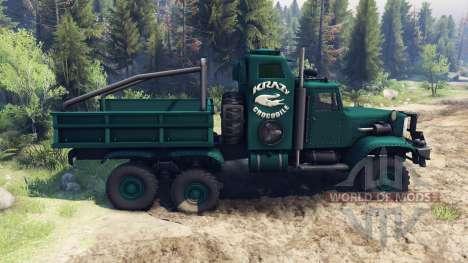 KrAZ-255 B1 Crocodile pour Spin Tires