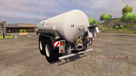 Remorque-citerne BSA Pumptankwagen 1997 pour Farming Simulator 2013