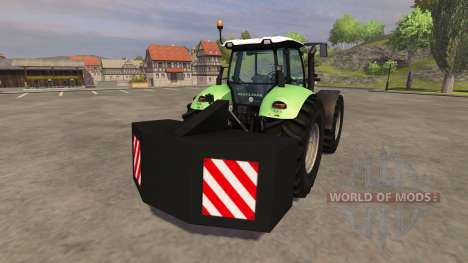 Hinten Gegengewicht für Farming Simulator 2013