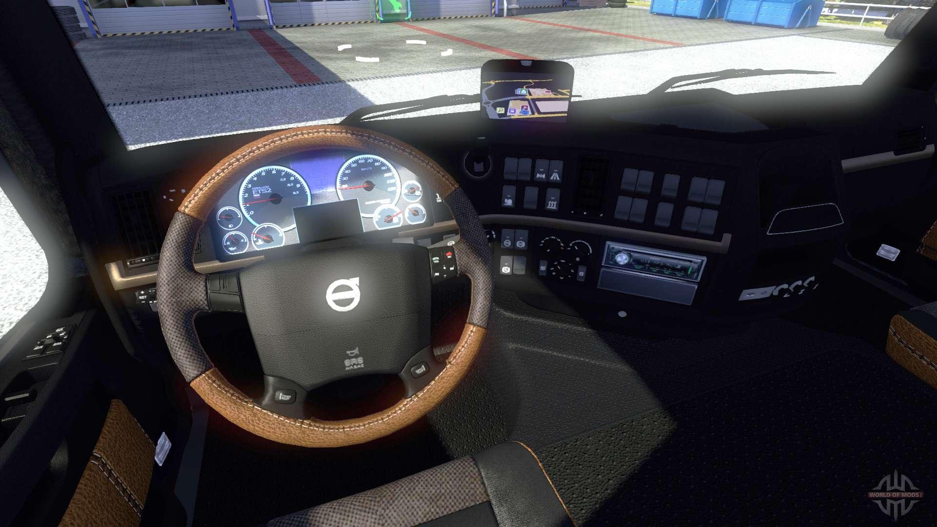 Nouvel Int 233 Rieur Volvo Pour Euro Truck Simulator 2