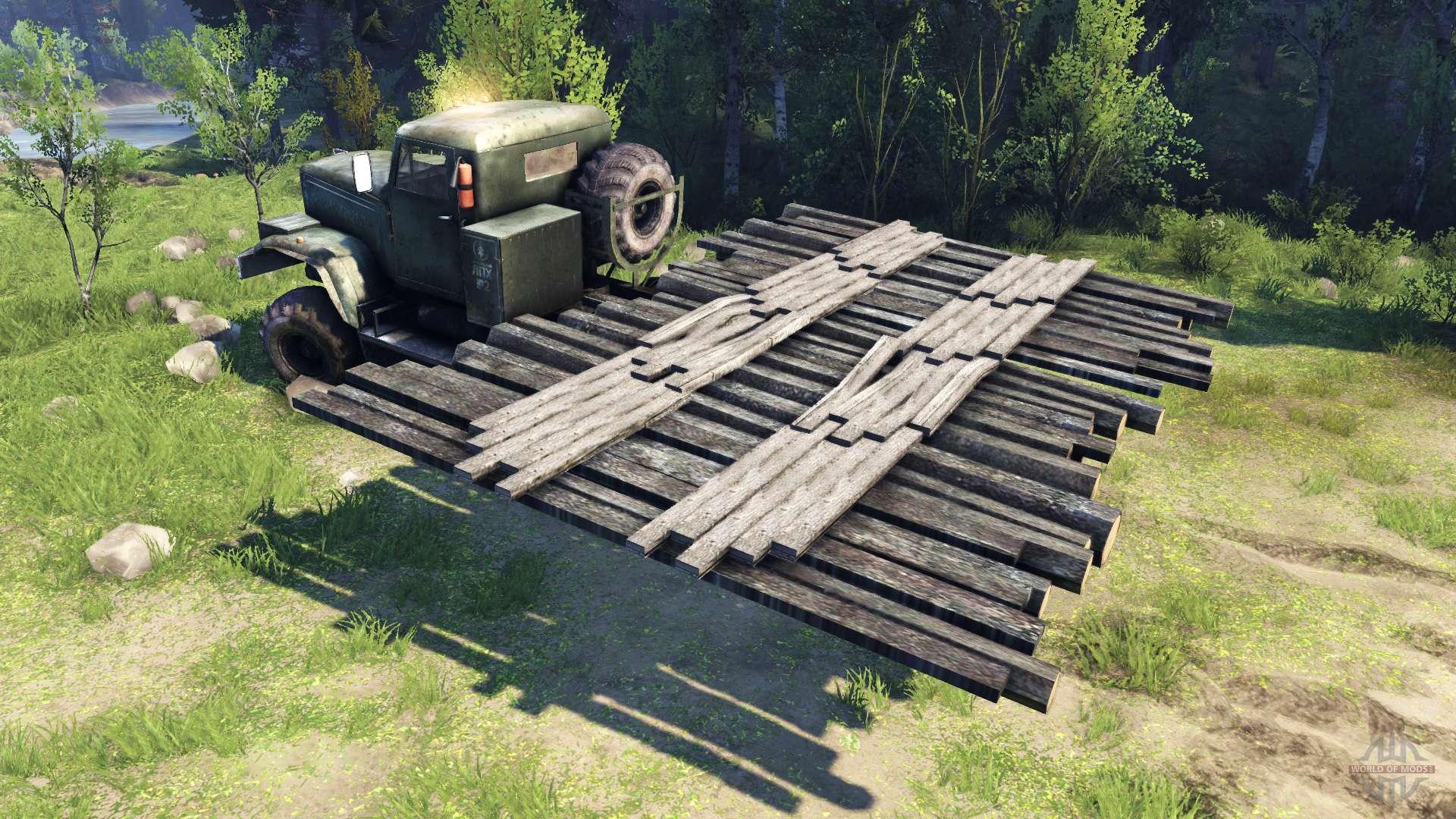 pont mobile pour spin tires. Black Bedroom Furniture Sets. Home Design Ideas