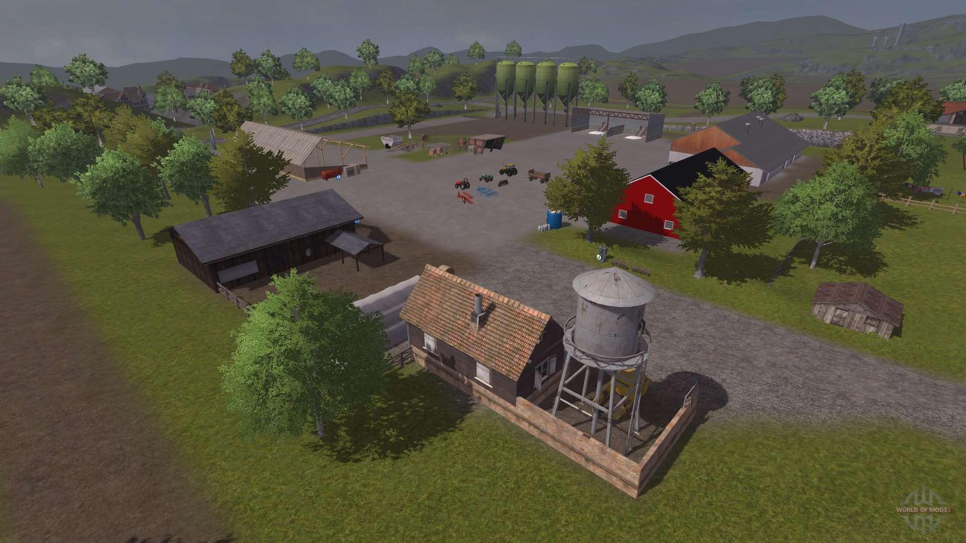 Russische Karte für Farming Simulator 2013