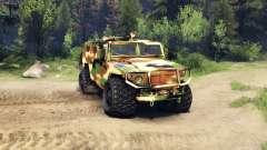 Le GAZ-2975 Tiger camo