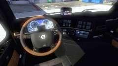 Neue Interieur des Volvo