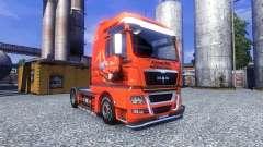 Couleur-Jagermeister - sur le camion MAN TGX