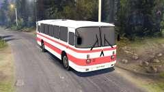 ЛАЗ-699Р roten Streifen