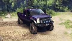 Ford F-350 Super Duty 6.8 2008 v0.1.0 purple