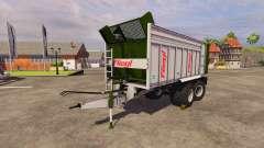 Remorque Fliegl ASW 268 2011