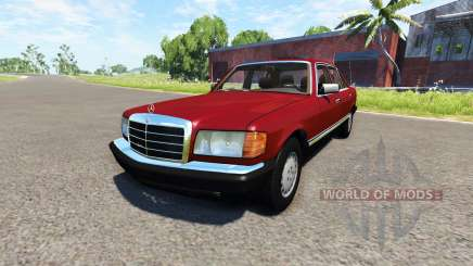 Mercedes-Benz W126 pour BeamNG Drive