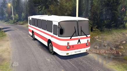 ЛАЗ-699Р roten Streifen für Spin Tires
