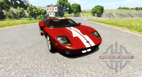 Ford GT 2005 pour BeamNG Drive