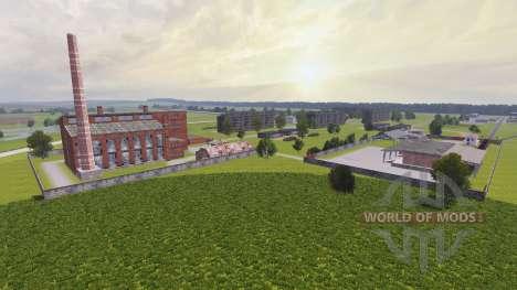 Lage der Farm Dawn v2.0 für Farming Simulator 2013