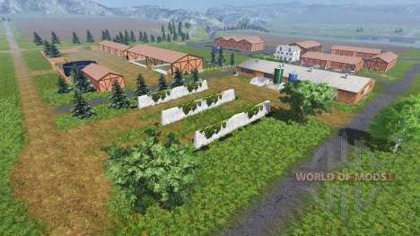 Lage Am Fluss für Farming Simulator 2013