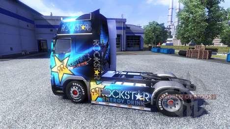 Farbe-Rockstar Energy Drink - Zugmaschine Volvo für Euro Truck Simulator 2