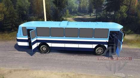 ЛАЗ-699Р blauen Streifen für Spin Tires